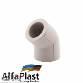 Угол Alfa Plast  45°