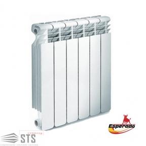 Радиатор алюминиевый Esperado Solo 500/80 мм