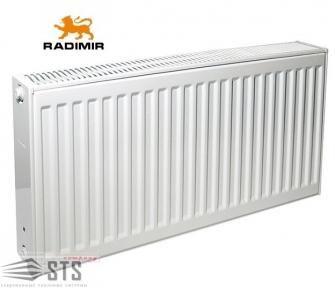 Радиаторы стальные RADIMIR TYPE 22 тип 300H бок