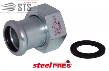 Сборной элемент стальной оцинкованный (отопление) STEELPRES® RM