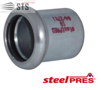 Заглушка стальная оцинкованная (отопление) STEELPRES® RM
