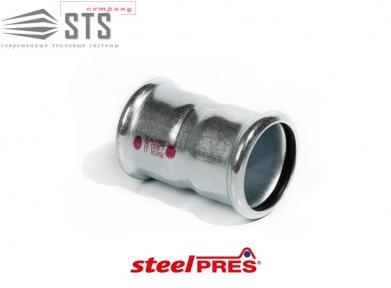 Муфта стальная оцинкованная (отопление) STEELPRES® RM